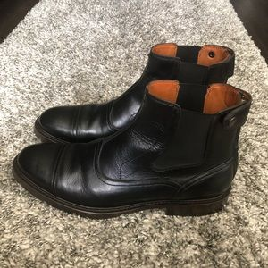 Two24 Ariant Merritt Mens black ankle boots